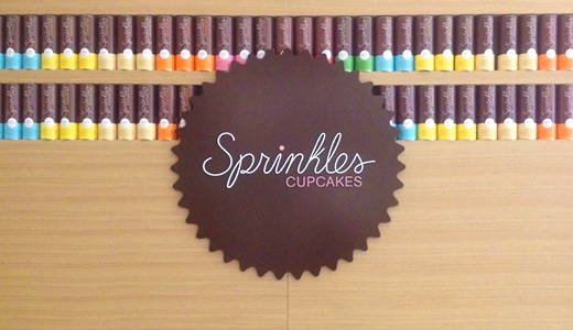Sprinkles New York retail wall
